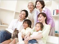 家族の写真