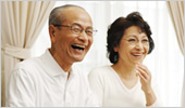 老夫婦の写真